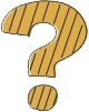 Cartoon graphic of a question mark