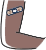 Graphic of an arm with a band-aid on it